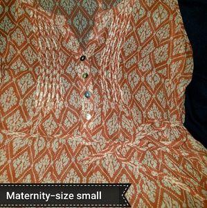2-Motherhood Maternity tops (smalls)